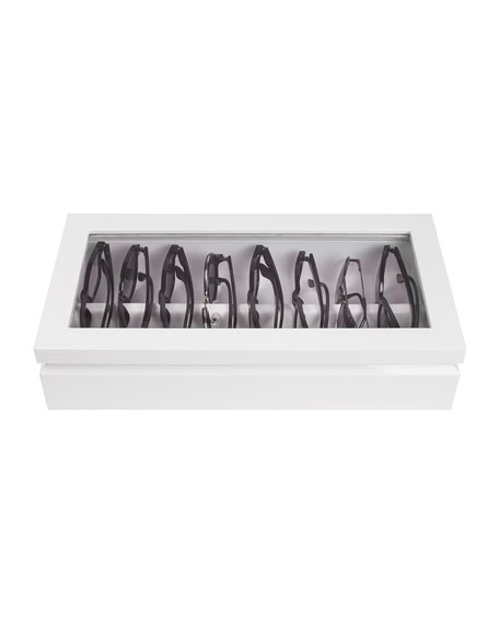 Oyobox Eyewear Organizer Case, White