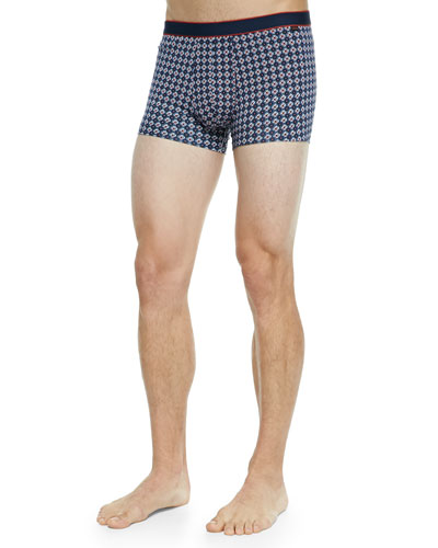 Star 4 Hipster Boxer Briefs, Navy