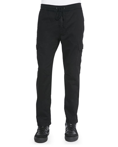 Onyx Weekend Cargo Pants, Black
