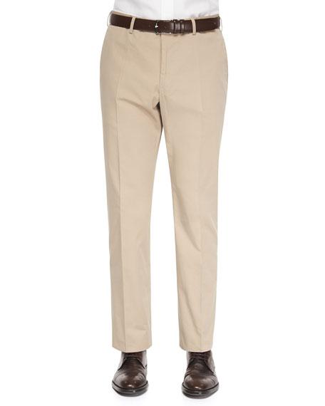 Incotex Straight-Leg Cotton Trousers