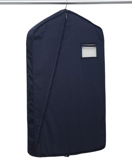 The Hanger Project Short Luxury Garment Bag, Navy