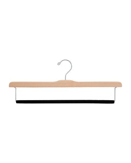 The Hanger Project Felted Trouser Bar Hanger, Natural