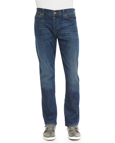 Standard Classic Half-Moon Jeans, Indigo