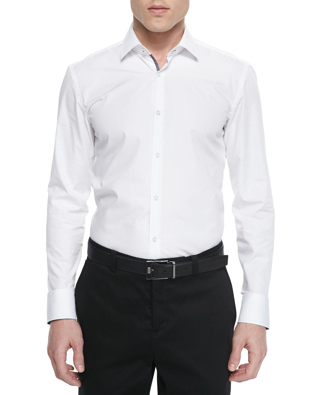 b8cf28a7153 Boss Hugo BossContrast Oxford Dress Shirt
