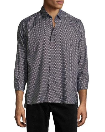 Ricky Patterned Long-Sleeve Shirt