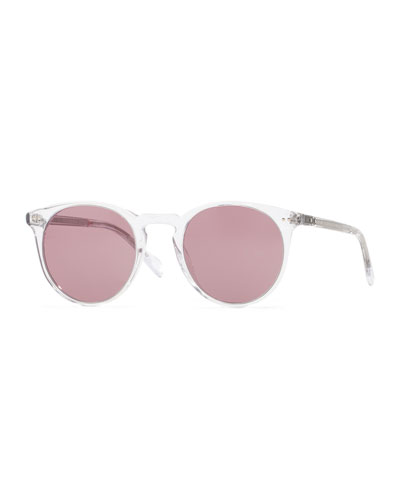 Sir O'Malley 46 Sunglasses, Crystal Clear