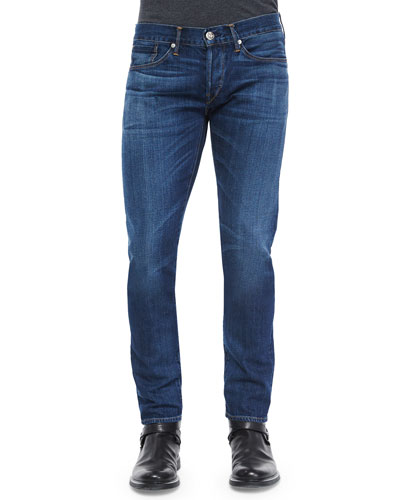 M5 Rebel Slim Denim Jeans, Blue