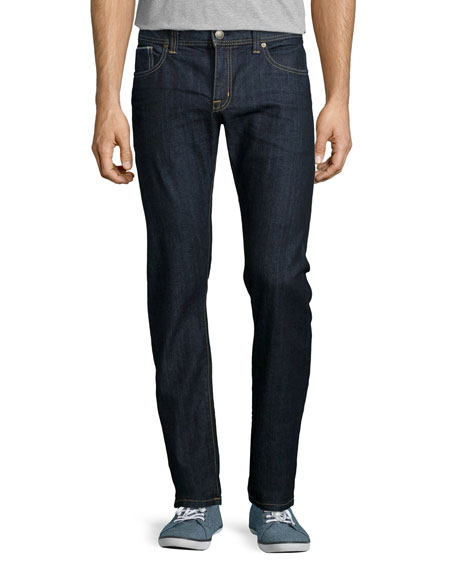 Fidelity Jimmy Akiba Rinse Selvedge Jeans, Dark Blue