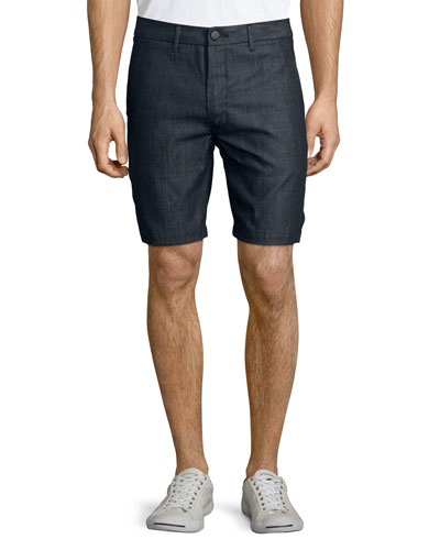 Lightweight Trouser Shorts, Navy