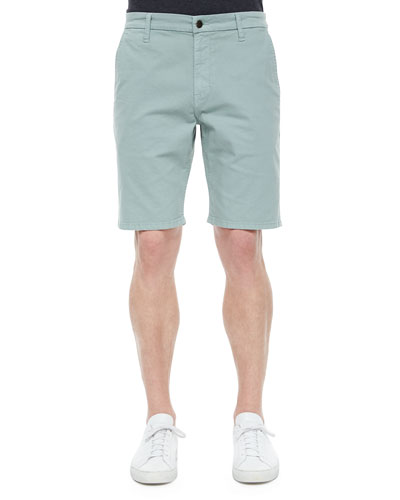 Brixton Woven Trouser Shorts, Light Green