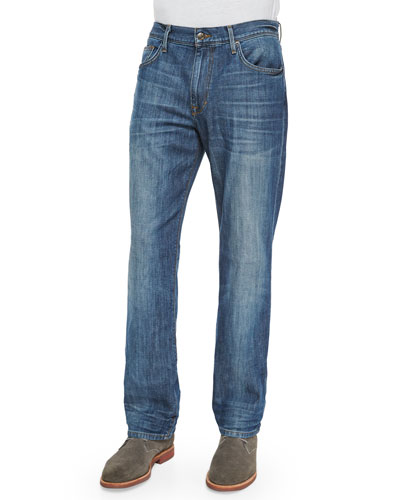 Rebel Relaxed-Fit Denim Jeans, Blue