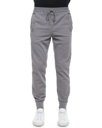 Freestyle Slim-Fit Jogger Pants, Dark Gray
