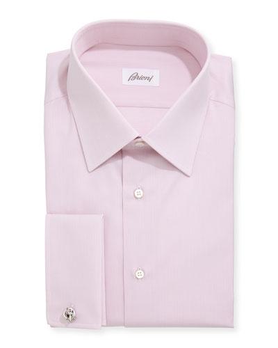 Tonal Rope Stripe Shirt, Pink
