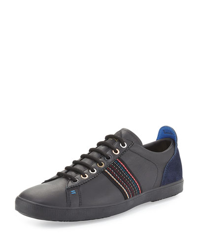 Osmo Leather Sneaker, Black