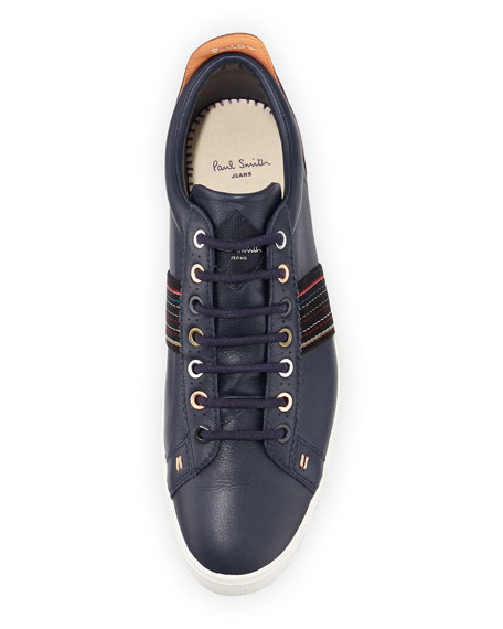 Image 2 of 4: Osmo Galaxy Leather Sneaker, Blue