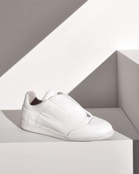 Future Calfskin Low-Top Sneaker, White