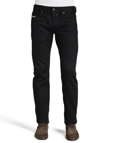 Safado Straight Jeans, Black