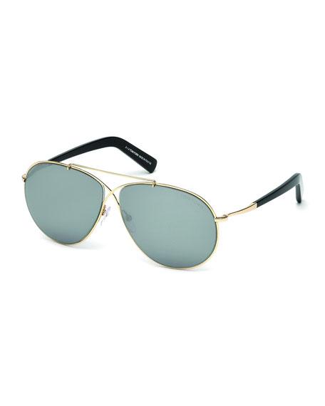 TOM FORDEva Lightweight Sunglasses, Rose Gold