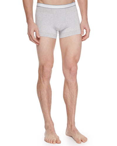 Hipster Boxer Briefs, Silver