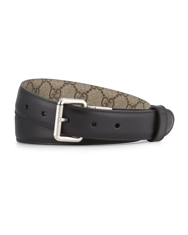 48d51283c7e Gucci GG Monogram Reversible Belt