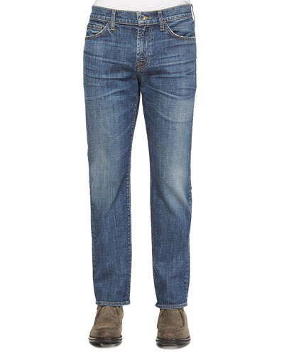 Slimmy Sierra Mirage Denim Jeans, Medium Blue
