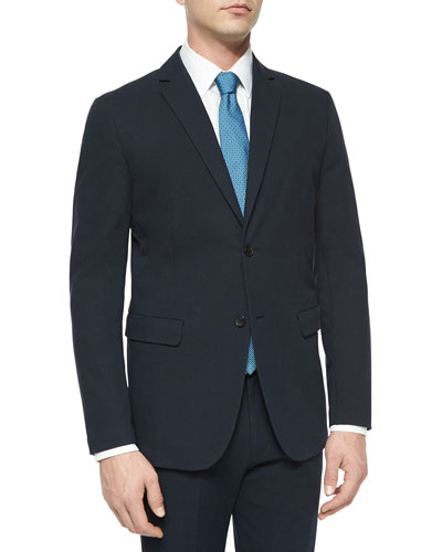Tobias Tonal Textured Sport Coat, Navy