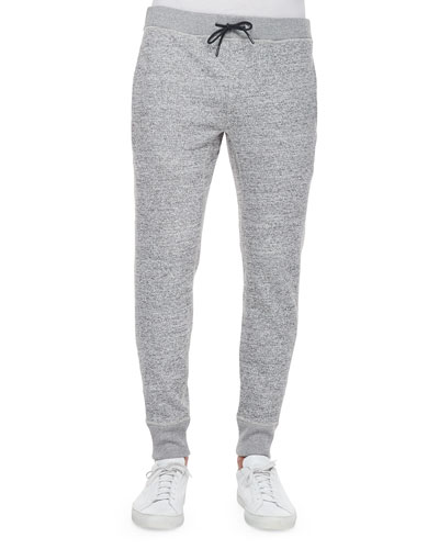 Morris Drawstring Sweatpants, Gray