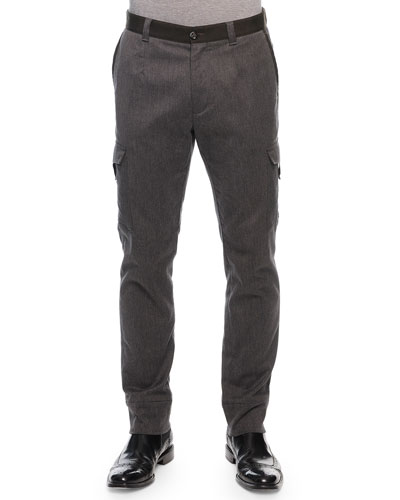 Cargo Jogger Pants, Gray