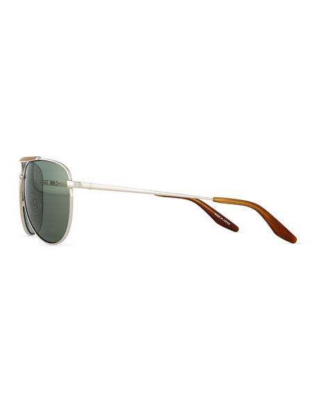 dcfe033ea2 Barton Perreira Breed Love Aviator Sunglasses