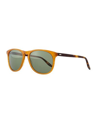 Mac Round-Square Sunglasses