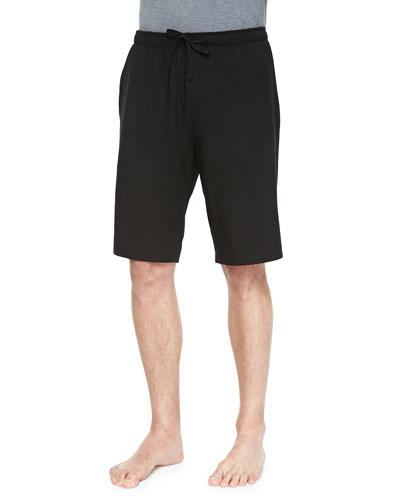 Basel Jersey Lounge Shorts, Black
