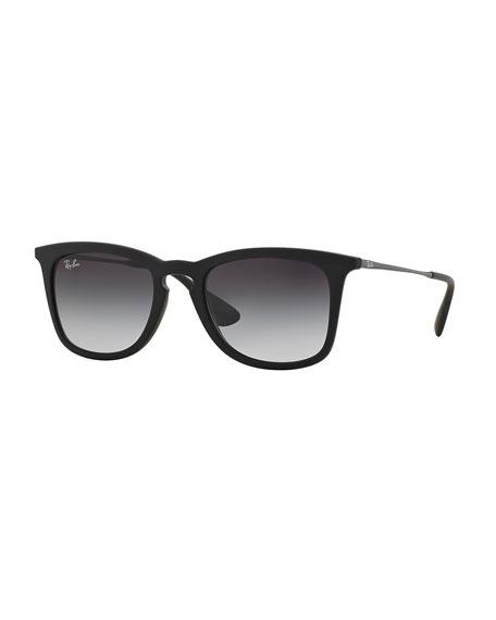 Ray-Ban Wayfarer Plastic Sunglasses, Matte Black