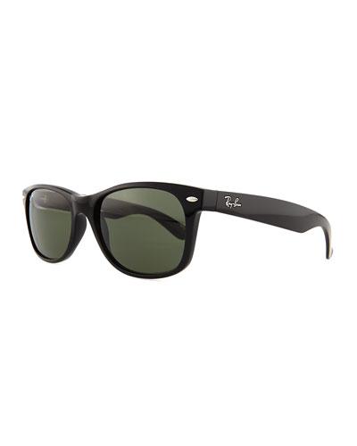 New Wayfarer Sunglasses, Matte Havana