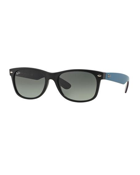Ray-Ban New Wayfarer Matte Sunglasses, Black