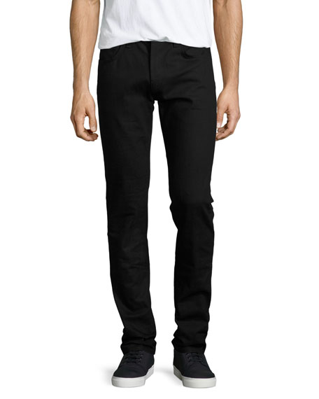 J Brand Jeans Mick Solid Denim Jeans, Black