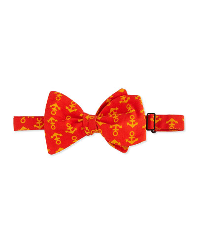 Bow & Anchor Bow Tie, Yellow