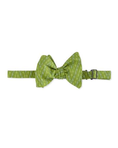 Ziggity Zag Bow Tie, Green