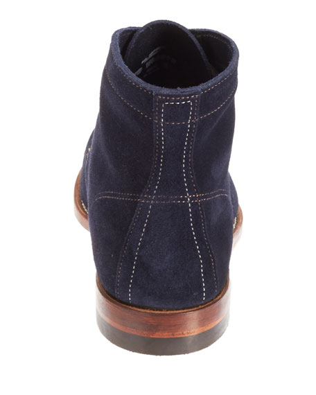 1000 Mile Suede Boot, Navy