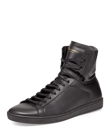 Saint LaurentMen's High Top Sneaker uKylCg0N15