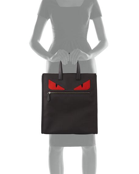 Fendi Monster Tote Bag Nylon
