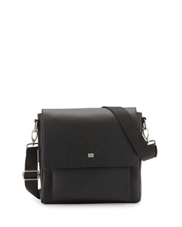 Small Messenger Bag, Black