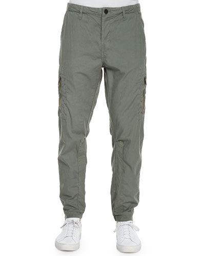 Frye Relaxed-Fit Flight Pants, Green