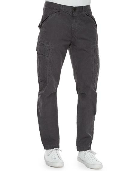 J Brand Collins Cargo-Pocket Utility Jogger Pants, Dark