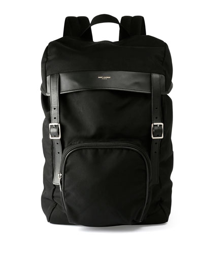 Hunting Canvas Backpack, Black