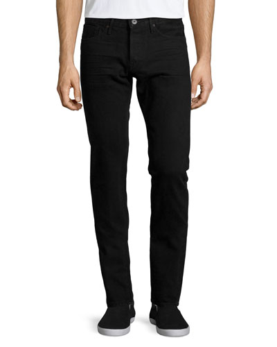 M3 Bonham Slim Denim Jeans, Dark Gray