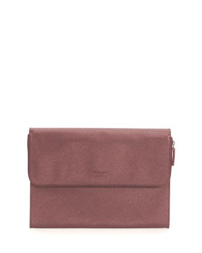 Leather Portfolio Case, Galaxy