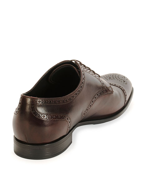 Burci Toronto Leather Derby Shoe, Brown