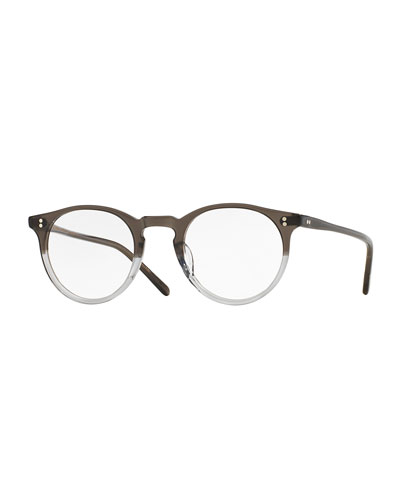 O'Malley 45mm Fashion Glasses, Gray Fade