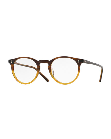 Oliver Peoples O Malley 45mm Fashion Glasses Brown Fade