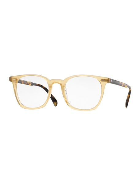 Oliver Peoples L.A. Coen 49 Square Fashion Glasses,